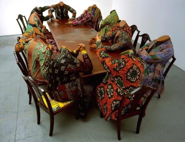 Scramble for Africa (2003)- Yinka Shonibare